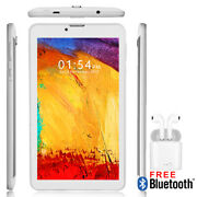 7 Android 9.0 Tablet Pc W/ Wireless 4g Phone Feature + Free Bluetooth Headset