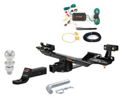 Curt Class 3 Trailer Hitch Tow Package W/ 2 Ball Dia For Mercedes-benz Gl450
