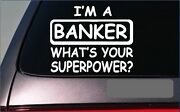 Banker Sticker Decal G350 Banking Computer Executive Ceo Desk Chair Suit
