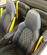 Porsche 996 And 997 Seat Conversion To Custom Sport Seats Color Backs And Stitching