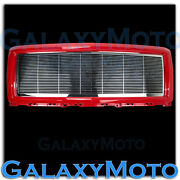 14-15 Chevy Silverado 1500 Chrome Billet Grille+victory Red Replacement Shell