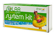 Enersol Swimming Pool Solar Heating System Kit - One Needed Per Installation