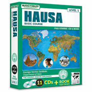 Fsi Hausa Basic Course 11 Cds/book By Foreign Service Institute New In Box