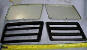 Suzuki Outboard Boat Motor Cowl Louver Cover And Louver Set Port And Starboard