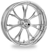 Performance Machine 17 Rear Chrome Paramount Wheel Tire Package Harley 09- Abs