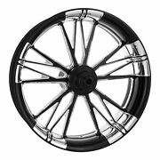 Xtreme Machine Execute Xquisite 21 Front Wheel Tire Rotor Package Harley 08-13