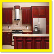Kitchen Cabinets Cherryville All Wood Cherry Stained Maple Group Sale Kcch3