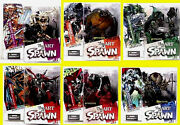 Art Of Spawn Series 26 6 Action Figure Set New 2004 Curse Bl Knight Amricons