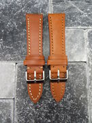 23mm Victorinox Swiss Army Leather Strap Band Infantry Vintage Chronograph