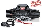 Warn 8,000 Lb Jeep Truck And Suv Premium Series Zeon 8-s Winch 12v Synthetic Rope