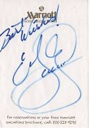 Autograph Of The Late Great Eddie Gurrerro