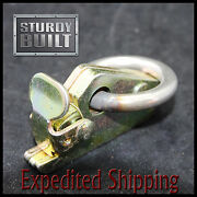 6 E Track Fitting 8mm O Ring Van Truck Enclosed Trailer Cargo Tie Down Rail Tool