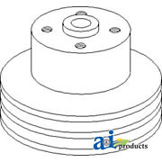 Compatible With John Deere Pulley Water Pump R47847 4320 W/o Air Conditioning