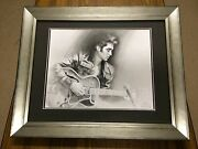 Elvisand039 1968 Comeback Tour Signed Original Drawing By Melody Owens