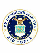Pinmart's My Daughter Is In The Us Air Force Military Enamel Lapel Pin