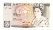 Great Britain Uk Kingdom Bank Of England 10 Pounds 1984-1986 Vf Pick 379c