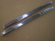 Nos Oem Ford 1942 Deluxe Grille Bars Ornaments Trim Mercury