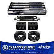 2 Front+ 1.5 Rear Lift Kit For 2004-2013 Ford F150 4wd Procomp Struts + Shocks