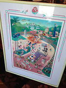 Rose Parade Centential Melanie Taylor Kent Limited Edition Print Seriograph