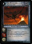 Lotr Tcg Ents Of Fangorn Eof The Witch-king Deathless Lord 6p122 Played