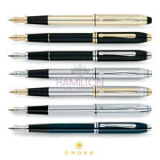 Cross Townsend Fountain Pen - Available In 7 Classic Timeless Finishes