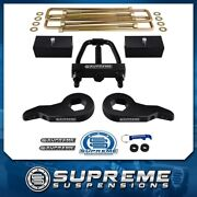 3 F + 3 R Complete Level Lift Kit For 88-99 Chevy K2500 + Torsion Tool Pro 4wd