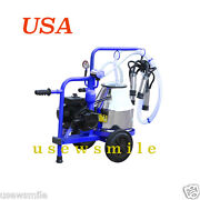 Milking Machine For Cows Vacuum Pump Electric Stainless Steel 304l