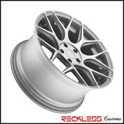 20 Avant Garde M590 Concave Wheels Rims Silver Fits Ford Mustang