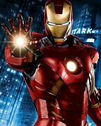 I Am Iron Man - Framed 24 X 19,5 Fine Art Canvas - Signed, Rare And Authentic