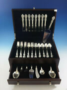 Spanish Provincial By Towle Sterling Silver Flatware Set For 8 Service 40 Pcs