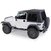 Rampage Complete Soft Top W/ Frame And Tint Fits 1976-1995 Jeep Cj-7 And Wrangler Yj