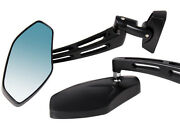 Black Sports Rearview Mirrors For Honda Cbr 250 500 600 900 929 954 1000 Rr Rc51