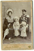 Russian Imp Colonel Koichev And Family Orders Medals Stars Sword Photo 1905 Scarce