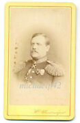 Russian Imp General With Rare Crowned Neck Orders Stanislaus And Anna Medal Photo