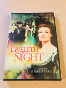 Twelfth Night Dvd New Out Of Print - Shakespeare