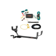 Curt Class 1 Trailer Hitch And Wiring W/ Old-style Ball Mount For Volkswagen Golf