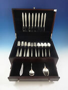 Spanish Lace By Wallace Sterling Silver Flatware Service Set 35 Pieces