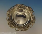 Blackberry By And Co. Sterling Silver Candy Bowl W/pierced Border 0448