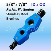 4-in-1 Plumber Or Battery Brush Stainless Steel Wire Pipe Brushes