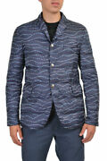 Moncler Gamme Bleu Menand039s Multi-color Down Insulated Sport Coat Jacket 1 2 3 4