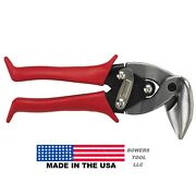 Midwest Upright Aviation Snips Left Cut Right Angle Mwt-6900l Made In Usa
