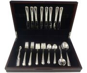 Blossom Time By International Sterling Silver Flatware Service 8 Set 50 Pieces