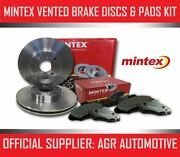 Mintex Front Discs And Pads 336mm For Volvo Xc90 2.5 Turbo 2002-15