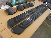 Ford 2015 2016 F150 Truck Running Boards Painted Grey 6 Crew Cab New T/off Oem