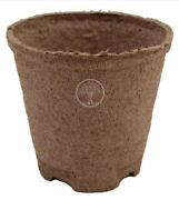 Jiffy Round Peat Pot 4x 3.5 Deep Compostable Seed Starting 144- 1100ct - Case