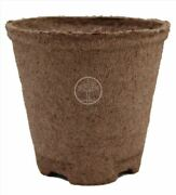 Jiffy 4 Inch Round Peat Moss Compostable Seed Starting Pots 144 Qty 100
