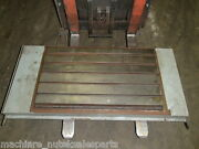 39 X 21.5 X 2.5 Steel Welding T-slotted Table Cast Iron Layout Plate T-slot