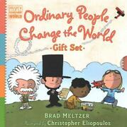 Ordinary People Change The World Gift Set - Meltzer, Brad/ Eliopoulos, Christoph