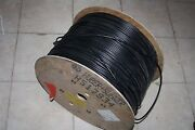 Huber+suhner Rg 59 B/u 2830ft Coax Cable 75 Ohm Black Copper Plated 510238