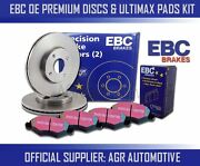 Ebc Front Discs And Pads 282mm For Peugeot 308 Sw 1.6 Td 110 Bhp 2007-13